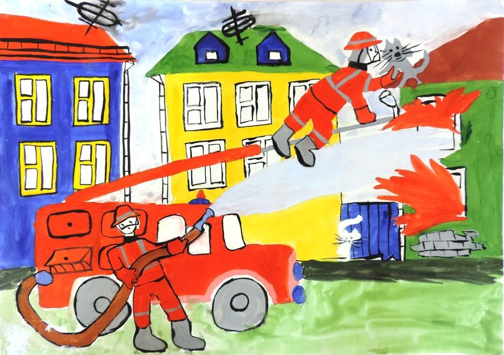 Картинки детские на тему противопожарная безопасность