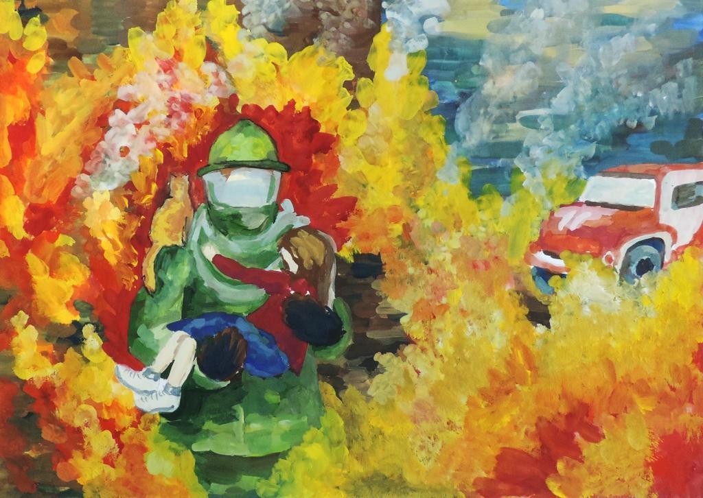 картинки с пожарными красками муниципалитета происходит арабского